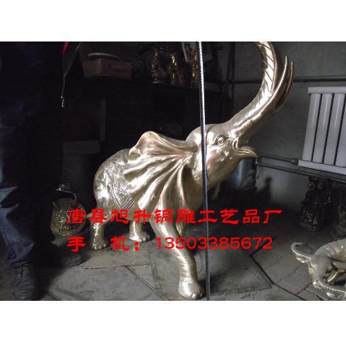 铸铜大象丨大象(图片)